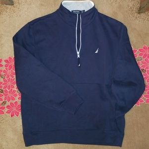 Nautica Pullover Cotton Jacket with Fleece Lining